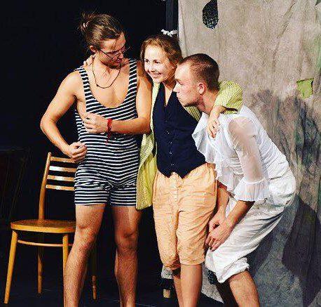 Študenti herectva Konzervatória J.L.Bellu v BB